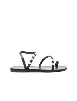 Apli Leather Elefthera Pearls Sandals by Ancient Greek Sandals