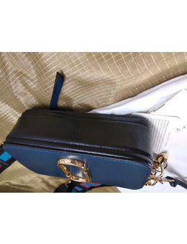 Genuine Marc Jacobs Snapshot Small Camera Bag Crossbody Navy Blue Multi Sales by Marc Jacobs