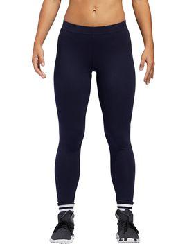 Adidas Women's 3 Stripe 7/8 Tights by Adidas