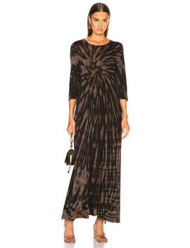 1/2 Sleeve Drama Maxi Dress by Raquel Allegra