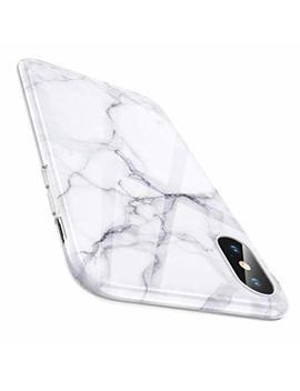 Esr Marble Slim Soft Case For I Phone Xs/I Phone X, Flexible Tpu Marble Pattern Cover For Apple I Phone 5.8 Inch (2017 & 2018 Release) (White Sierra) by Esr