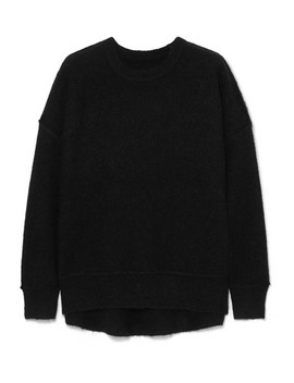 Biaggio Brushed Knitted Sweater by By Malene Birger