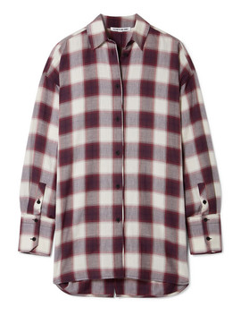 Clive Oversized Checked Cotton Shirt by Elizabeth And James