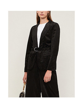 Sorrenti Skinny Cord Belted Jacket by Paige