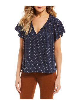 Geometric Print Blouse by Copper Key