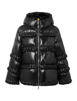 + 6 Noir Kei Ninomiya Whipstitched Quilted Shell Down Jacket by Moncler Genius