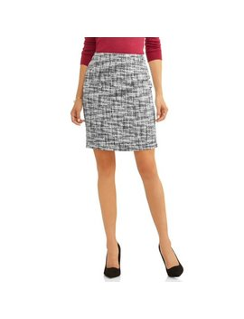 Women's Tweed Skirt by L.N.V