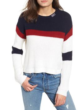 Allie Colorblock Crewneck Sweater by Obey