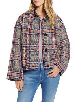 Funnel Neck Jacket by Halogen®
