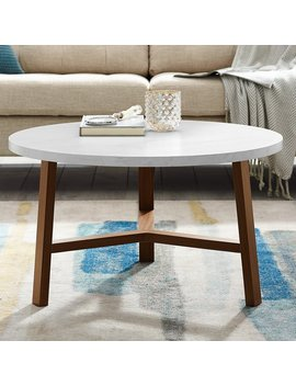 Ebern Designs Josiah Round Coffee Table by Ebern Designs