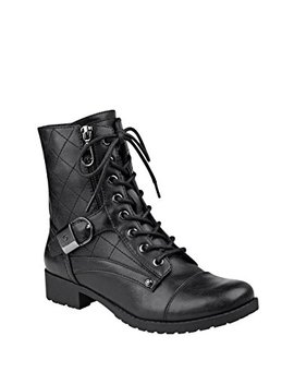G By Guess Womens Brittian Peep Toe Mid Calf Fashion Boots by G+By+Guess