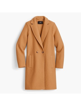 Tall Daphne Topcoat In Italian Boiled Wool by J.Crew