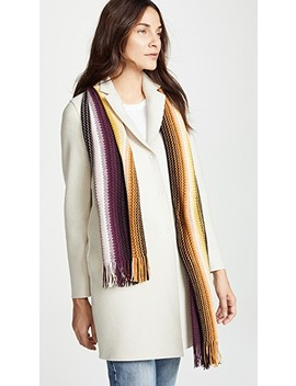 Striped Scarf by Missoni
