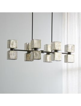 Ava Linear Chandelier by Crate&Barrel