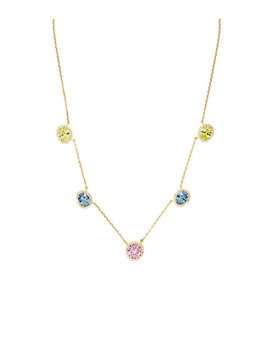 Candy Halo Collar Necklace by Henri Bendel