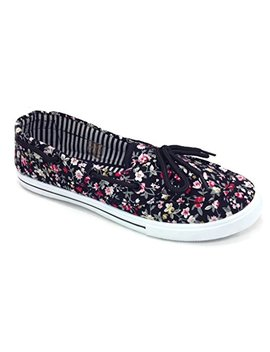 R&L Rl Perla 82 Canvas Lace Up Flat Slip On Boat Comfy Round Toe Sneaker Tennis Shoe by R&L