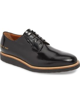 Plain Toe Derby by Common Projects