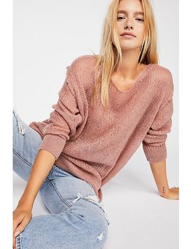 Transparent Crew Sweater by Free People