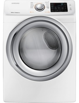 7.5 Cu. Ft. 10 Cycle Gas Dryer With Steam   White by Samsung