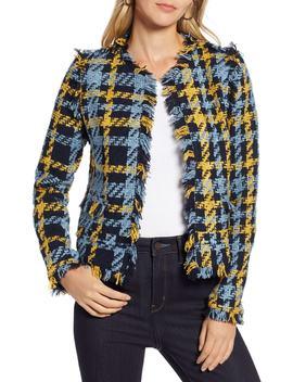 Plaid Tweed Jacket by Halogen®