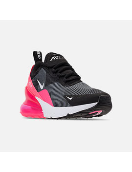 Girls' Grade School Nike Air Max 270 Kjcrd Casual Shoes by Nike