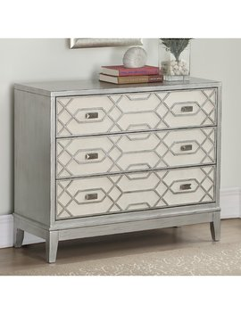 Bungalow Rose Gulick 3 Drawer Chest by Bungalow Rose
