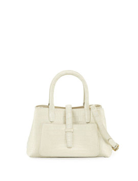 Astrid Small Crocodile Tote Bag by Nancy Gonzalez