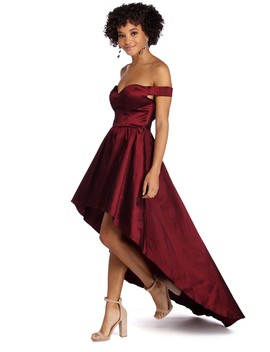 Rory Formal High Low Taffeta Dress by Windsor