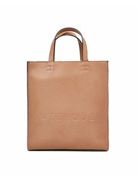 Uterque Women Small Tote Bag With Logo 1122/705 by Uterque