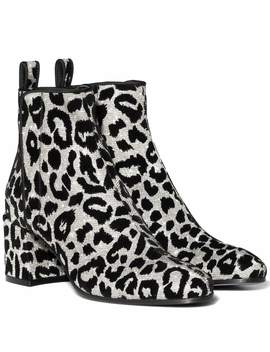 Leopard Ankle Boots by Dolce & Gabbana