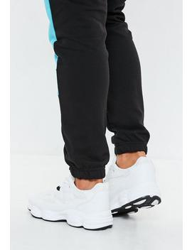 White Colour Block Upper Chunky Sole Trainers by Missguided