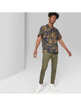 Men's Skinny Utility  Pants   Original Use™ Paris Green by Original Use™