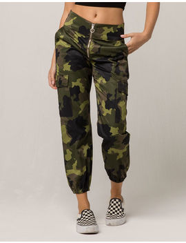 Tinseltown Camo Womens Cargo Pants by Tinseltown