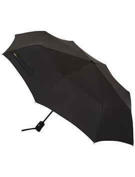Amazon Basics Automatic Travel Umbrella, Black by Amazon Basics