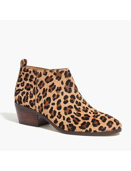 Sawyer Calf Hair Boots by J.Crew