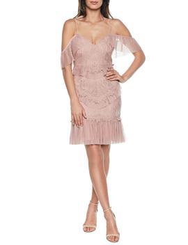 Valorie Lace Cocktail Dress by Bardot