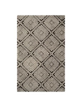 Roberta Geometric Tufted Accent Rug   Safavieh by Safavieh