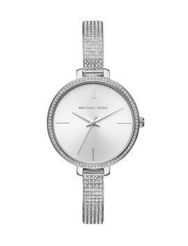 Jaryn Pavé Bangle Bracelet Watch by Michael Kors
