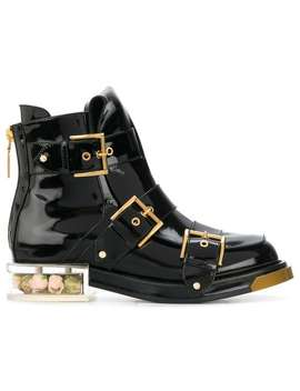 Buckle Fastening Boots by Alexander Mc Queen