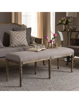 Lark Manor Hadrien Wood Bench & Reviews by Lark Manor