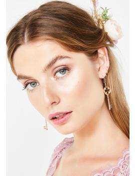 Hot Key Earrings by Impulse Fashion Accessories