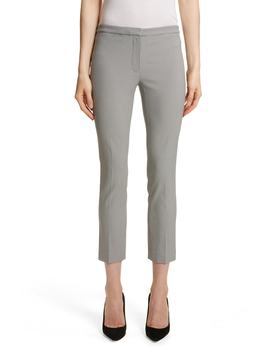 Classic Houndstooth Crop Skinny Pants by Theory