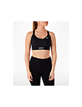 Women's Nike Pro Indy Logo Back Sports Bra by Nike
