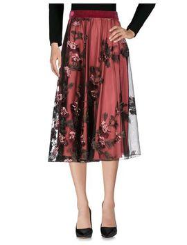Blugirl Folies 3/4 Length Skirt   Skirts by Blugirl Folies