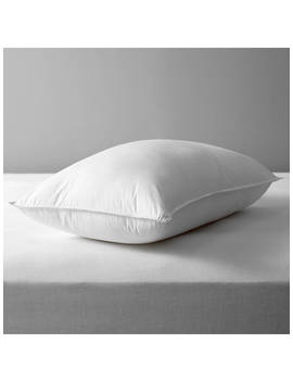 John Lewis & Partners Synthetic Soft Like Down Standard Pillow, Medium/Firm by John Lewis & Partners