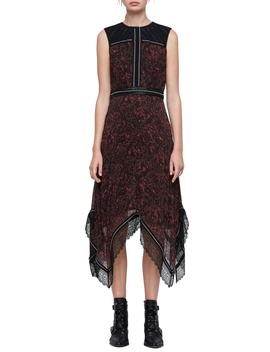 Adella Rosey Handkerchief Hem Dress by Allsaints
