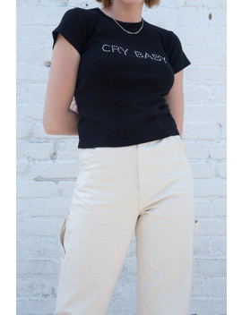 hailie-cry-baby-top by brandy-melville