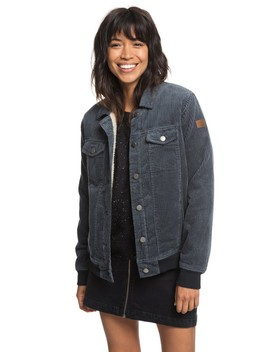 Redwood Giants Sherpa Lined Corduroy Jacket by Roxy