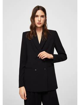 Unstructured Belt Coat by Mango