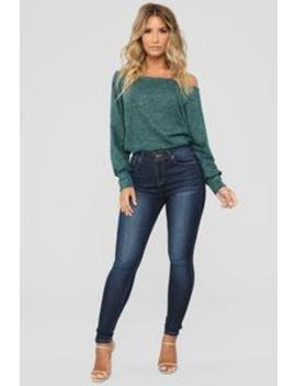 Lets Talk About Love Skinny Jeans   Dark Denim by Fashion Nova